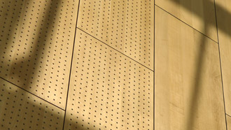 Perforated acoustic panel (PAP System)