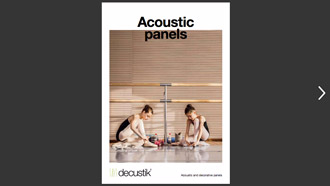 PDF Catalog Acoustic panels range