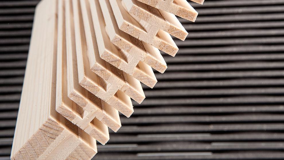 Acoustic curved panels Decustik