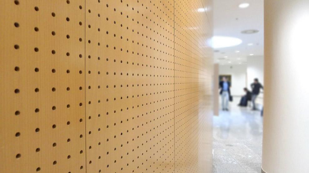 perforated acoustic panels decustik. Black Bedroom Furniture Sets. Home Design Ideas